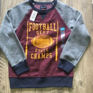 🏈Boys Long Sleeve Crew Neck🏈